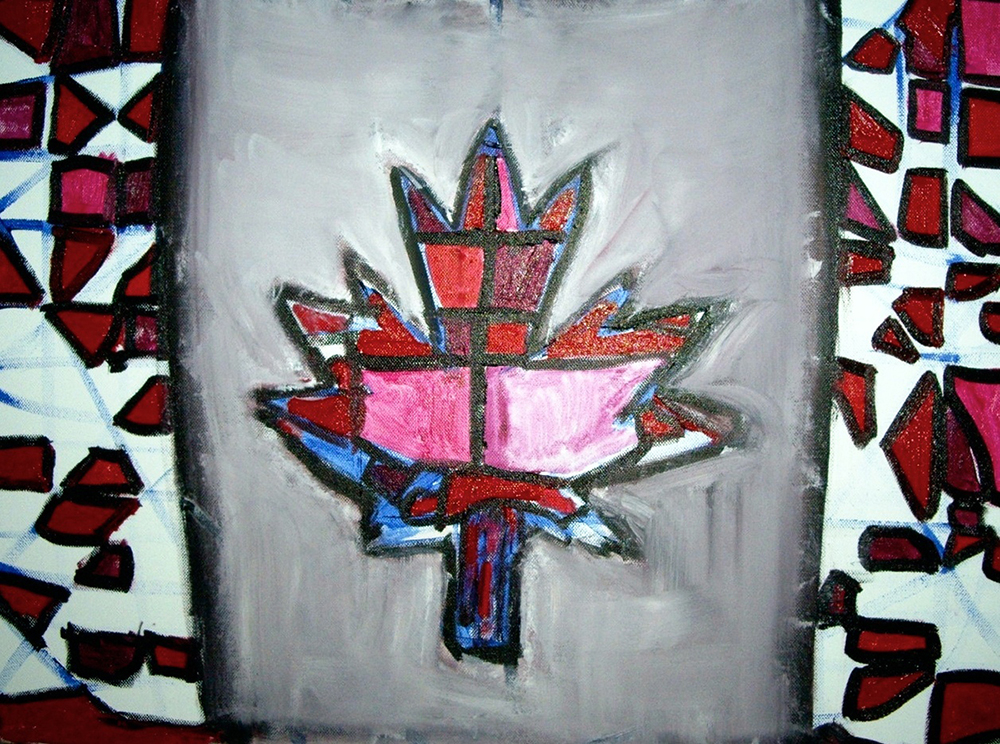 Ariel Shallit painting of Canada #1
