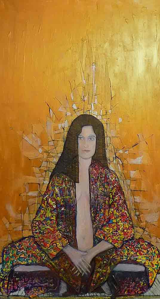 Ariel Shallit painting of Ages of Woman #2