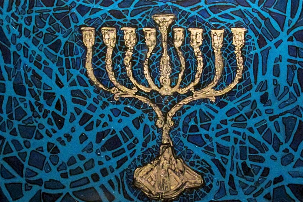 Ariel Shallit painting of Hanukkah 5774 #0