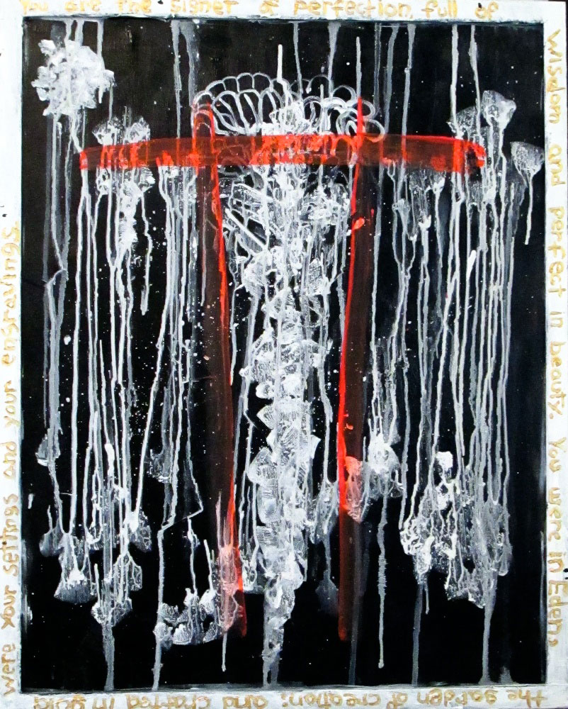 Ariel Shallit painting of Confession #1