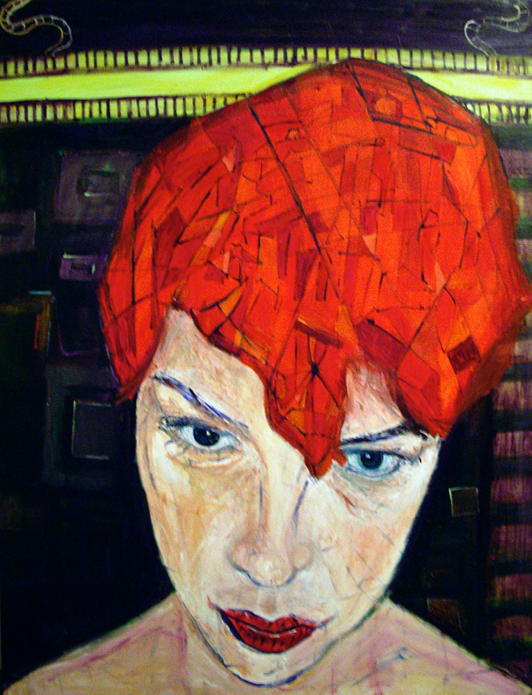 Ariel Shallit painting of Laurie