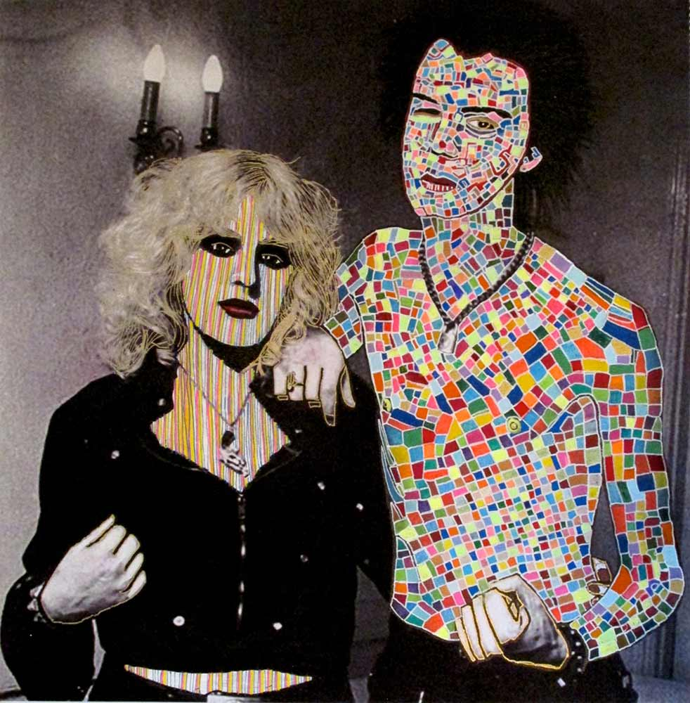 Ariel Shallit painting of Sid and Nancy