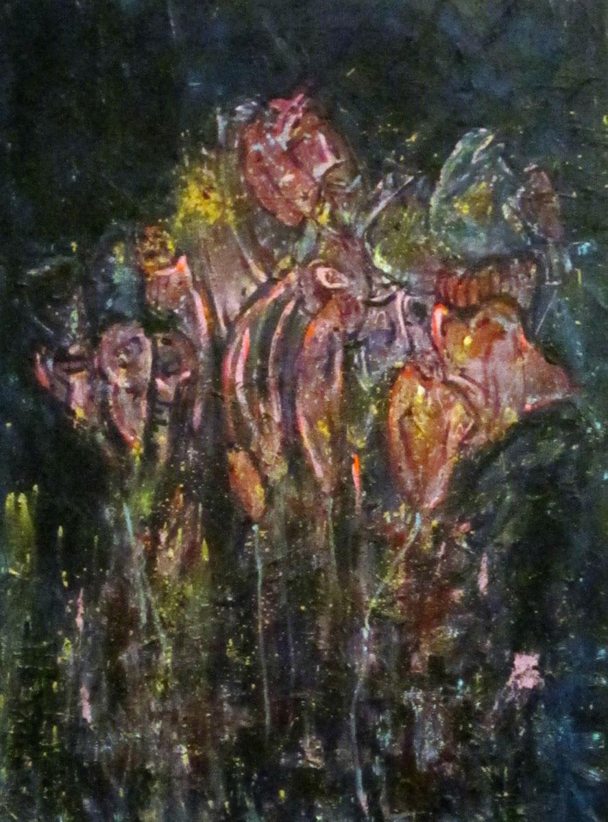 Ariel Shallit painting of Valentine #3